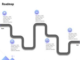 Roadmap Five Stage L1293 Ppt Powerpoint Presentation Layouts Samples