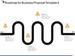Roadmap For Business Proposal Template Ppt Powerpoint Presentation Design Ideas