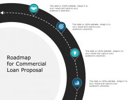 Roadmap For Commercial Loan Proposal Ppt Powerpoint Presentation File Guide
