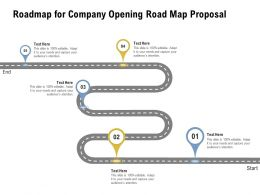 Roadmap For Company Opening Road Map Proposal Ppt Powerpoint Presentation File Mockup