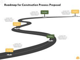 Roadmap For Construction Process Proposal L1495 Ppt Powerpoint Presentation Ideas