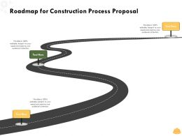Roadmap For Construction Process Proposal Ppt Powerpoint Presentation Show