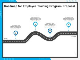 Roadmap For Employee Training Program Proposal Capture Attendance Ppt Presentation Styles Vector