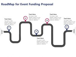 Roadmap For Event Funding Proposal Ppt Powerpoint Presentation Professional