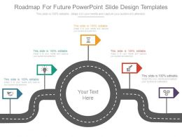 Roadmap For Future Powerpoint Slide Design Templates