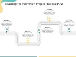 Roadmap For Innovation Project Proposal A1092 Ppt Powerpoint Presentation Professional Pictures