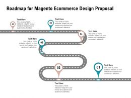 Roadmap For Magento Ecommerce Design Proposal Ppt Powerpoint Presentation Ideas