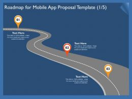 Roadmap For Mobile App Proposal Template R304 Ppt Powerpoint Show