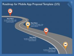 Roadmap For Mobile App Proposal Template R305 Ppt Powerpoint Presentation