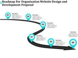 Roadmap For Organization Website Design And Development Proposal Ppt Templates