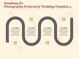 Roadmap For Photography Proposal Of Wedding C1416 Ppt Powerpoint Presentation Gallery