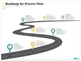 Roadmap For Process Flow Audiences Attention Ppt Powerpoint Pictures