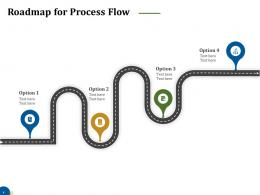 Roadmap For Process Flow Business Turnaround Plan Ppt Pictures