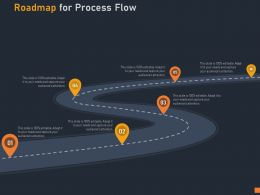 Roadmap For Process Flow C1027 Ppt Powerpoint Presentation Infographic Template