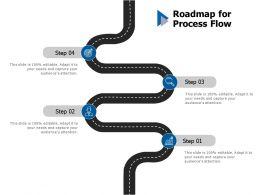 Roadmap For Process Flow C444 Ppt Powerpoint Presentation Outline Images