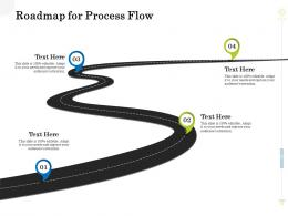 Roadmap For Process Flow Clean Production Innovation Ppt Professional Backgrounds