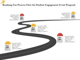 Roadmap For Process Flow For Student Engagement Event Proposal Ppt Powerpoint Slide