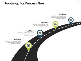 Roadmap For Process Flow Icons J 59 Ppt Powerpoint Presentation File Formats