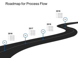 Roadmap For Process Flow L72 Ppt Powerpoint Presentation Styles Slide