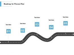 Roadmap For Process Flow L93 Ppt Powerpoint Presentation Summary Icons
