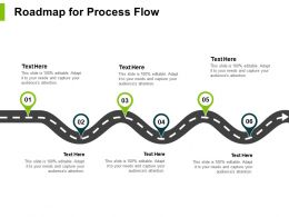 Roadmap For Process Flow Location Ppt Powerpoint Presentation File Background