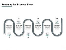 Roadmap For Process Flow Ppt Powerpoint Presentation Pictures File Formats
