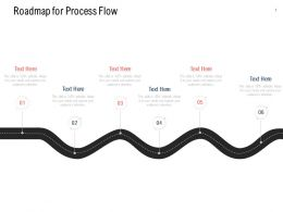 Roadmap For Process Flow Ppt Powerpoint Presentation Styles Files