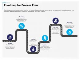 Roadmap For Process Flow R147 Ppt Inspiration