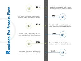 Roadmap For Process Flow R380 Ppt Infographics