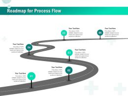 Roadmap For Process Flow R543 Ppt Powerpoint Presentation Icon Introduction