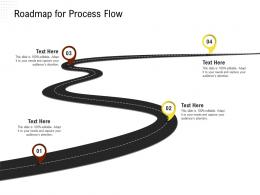 Roadmap For Process Flow Rethinking Capital Structure Decision Ppt Powerpoint Show