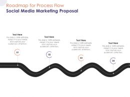 Roadmap For Process Flow Social Media Marketing Proposal Ppt Powerpoint Presentation Portfolio