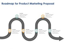 Roadmap For Product Marketing Proposal Ppt Powerpoint Presentation Model Images