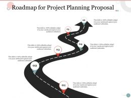 Roadmap For Project Planning Proposal Ppt Powerpoint Presentation Background Images