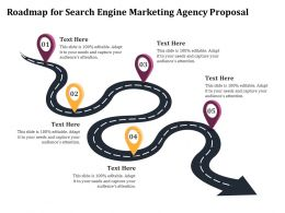 Roadmap For Search Engine Marketing Agency Proposal Ppt Inspiration