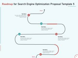 Roadmap For Search Engine Optimization Proposal Template Five Ppt Powerpoint Picture