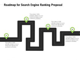 Roadmap For Search Engine Ranking Proposal Capture Ppt Powerpoint Presentation Introduction