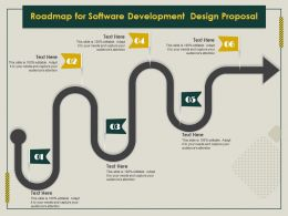 Roadmap For Software Development Design Proposal Ppt File Elements