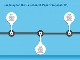 Roadmap For Thesis Research Paper Proposal R159 Ppt Example File