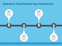 Roadmap For Thesis Research Paper Proposal R160 Ppt Topics