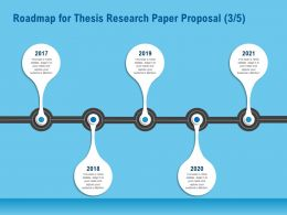 Roadmap For Thesis Research Paper Proposal R161 Ppt Demonstration
