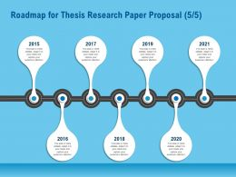 Roadmap For Thesis Research Paper Proposal R163 Ppt File Aids