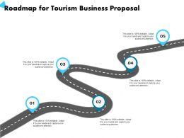 Roadmap For Tourism Business Proposal Capture Ppt Powerpoint Presentation Design Ideas