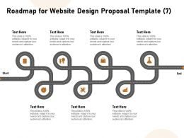 Roadmap For Website Design Proposal Seven Ppt Powerpoint Design