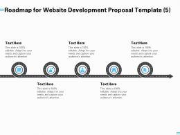 Roadmap For Website Development Proposal Template A1252 Ppt Summary