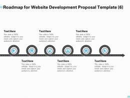 Roadmap For Website Development Proposal Template A1253 Ppt Powerpoint Presentation Outline