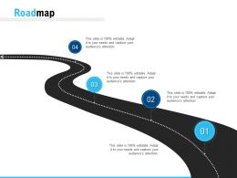 Roadmap Four Process C1133 Ppt Powerpoint Presentation Pictures Layout