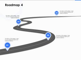 Roadmap Four Process C1224 Ppt Powerpoint Presentation Ideas Demonstration