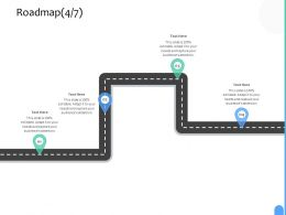 Roadmap Four Process C1235 Ppt Powerpoint Presentation Ideas Maker