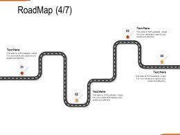 Roadmap Four Stage C1291 Ppt Powerpoint Presentation Inspiration Summary